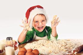 Bild: Adventsbäckerei für Kinder