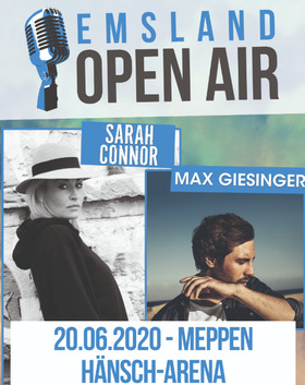 Bild: Emsland Open Air 2020 - Sarah Connor + Max Giesinger