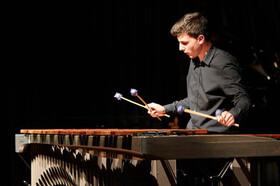 Bild: Kammerorchester Oberhaching - Leitung: Gerold Huber, Marimbaphon: Christian Janker (Matinee)