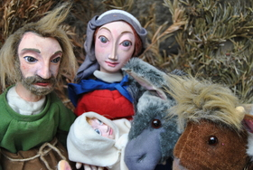 Bild: Die Weihnachtsgeschichte - Figurentheater Künster - Für alle ab 3 Jahren