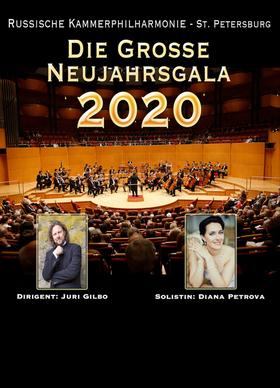 Bild: Die große Neujahrsgala  - Tour 2020 - Russische Kammerphilharmonie St. Petersburg