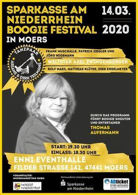 Bild: Sparkasse am Niederrhein Boogie Festival in Moers