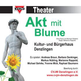 Bild: Akt mit Blume - CVJM Theater