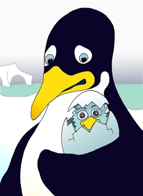 Bild: Ich bin Pinguin - Wera Mahne