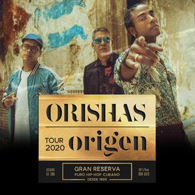 Bild: ORISHAS - Origen Tour 2020