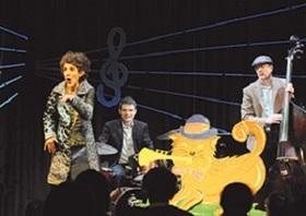 Bild: Matze mit der blauen Tatze - Ein Jazz-Familien-Konzert zum Mits(w)ingen!