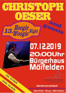 Bild: CHRISTOPH OESER & Friends - 13. Boogie-Woogie-Night