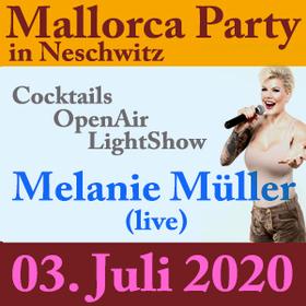 Bild: Mallorca Party im Schlosspark Neschwitz - Spaß & Stimmung mit Melanie Müller