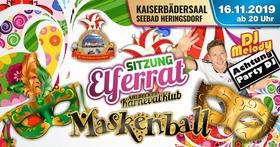 Bild: Elferratssitzung des AKK mit Maskenball - Elferratssitzung mit Maskenball