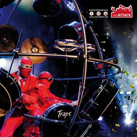 Bild: redATTACKs Drumshow theGLOBE - Die Show mit rhythmischem Überschallknall