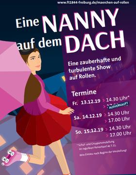 Musical-Märchen-Show auf Rollen - Eine Nanny auf dem Dach