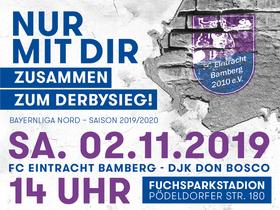 Bild: FC Eintracht Bamberg – DJK Don Bosco Bamberg - Das Bamberger Stadtderby