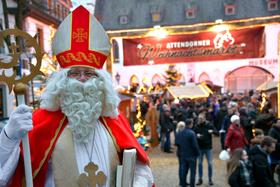 15. Attendorner Weihnachtsmarkt - Weihnachtsmarkthütte - 2. Zeitraum