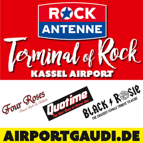 Bild: ROCK ANTENNE Terminal of Rock am Kassel Airport - Mit Four Roses, Quotime und Black Rosie