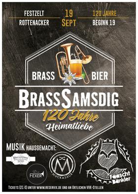 Bild: BrassSamsdig - Brass, Bier, 120 Jahre Heimatliebe