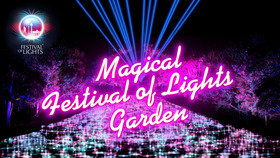 Bild: Magical Festival of Lights Garden