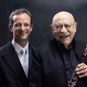 Bild: Giora Feidman & Sergej Tcherepanov  (Klarinette & Orgel) - From Classic to Klezmer