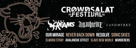 Bild: Crowdsalat Festival 2019 - mit: Silent Screams - Imminence - LANDMVRKS - Our Mirage - Sonic Skies uvm.