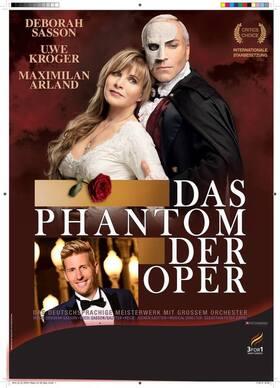 Bild: Das Phantom der Oper - Die Original Produktion von Sasson/Sautter mit Deborah Sasson und Uwe Kröger