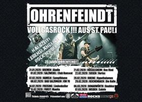 Bild: OHRENFEINDT - Halbzeit! Lebenslänglich Rock'n'Roll! - 25 Jahre OHRENFEINDT
