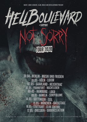 Bild: HELL BOULEVARD - Not Sorry Tour 2020