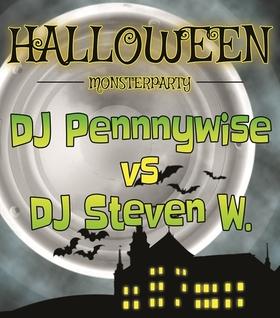 Grusel Party zu Halloween - DJ Pennywise vs. Steven W
