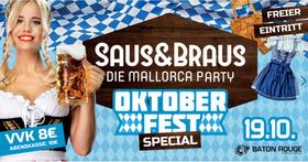Bild: SAUS&BRAUS - Die Mallorca Party - Oktoberfest Special