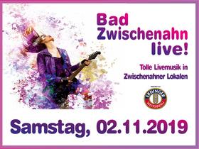 Bild: Bad Zwischenahn Live! - Nacht der Bands - 9 Bands in 9 Zwischenahner Lokalen - Shuttlebus inklusive