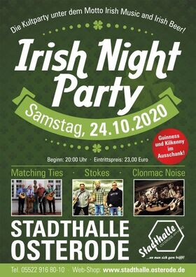 Bild: Irish Night Party - Irish Music and Irish Beer
