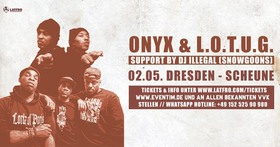 Bild: Onyx + Lords Of The Underground
