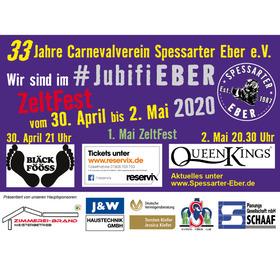 Mai-Jubifest CSE - 33 Jahre Carnevalverein Spessarter Eber e. V.