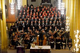 Bild: Verdi: Requiem - Fassung für Solostimmen, Chor, Streicher, Klavier, Orgel und Schlagwerk von Adolf Hennig (Erstaufführung)