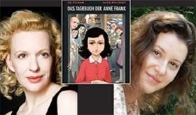 Bild: Anne Frank - Graphic Diary - Lesung und Illustration mit Sunnyi Melles und Leonille Wittgenstein