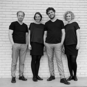Bild: A cappella-Quartett Cantuccini - Kurzweilige Unterhaltung vom Feinsten