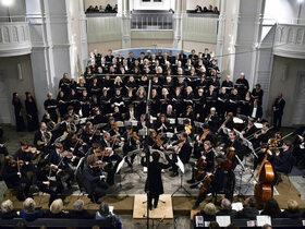 Bild: W. A. Mozart: Das Requiem, KV 626 - Johann Bach: Unser Leben ist ein Schatten, Otfried Büsing: Dies Illa