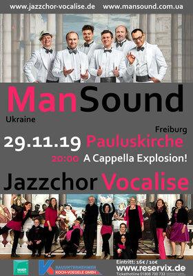 Bild: ManSound & Jazzchor Vocalise - Doppelkonzert - A Cappella Explosion!
