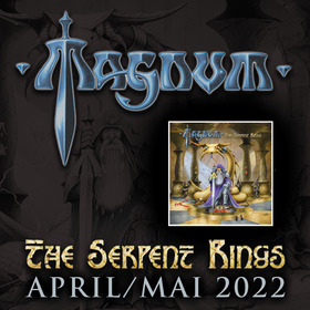 Bild: MAGNUM - The Serpent Rings Tour 2021
