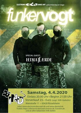 Funker Vogt - special guest Heimataerde