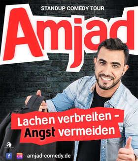 Amjad - Lachen verbreiten, Angst vermeiden.