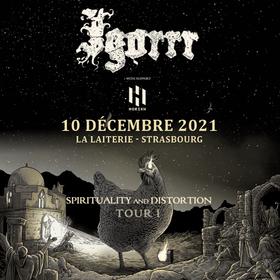 """Igorrr  """"Spirtituality and Distortion Tour 1"""" + Otto Von Schirach + Drumcorps"""