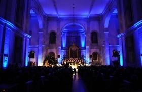 Weihnachts- und Jahresabschluss-Konzert mit GOLDEN HARPS Gospel Choir - Gospelkonzert