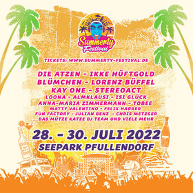 Bild: Summerty-Festival 2020 - Camping-Ticket