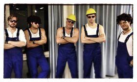 Bild: SWR1 Rosenmontagsparty - Mit Sidewalk Deluxe, de Handwerkers und SWR1 DJ Hanns Lohmann