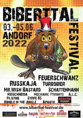 Bild: Biberttal Festival 2021 - Festivalticket 21.05. - 23.05.2021