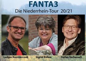 Bild: FANTA3 - Ludger Kazmierczak, Ingrid Kühne, Stefan Verhasselt