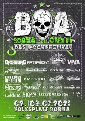 Borna Open Air 2020 - Das Rockfestival