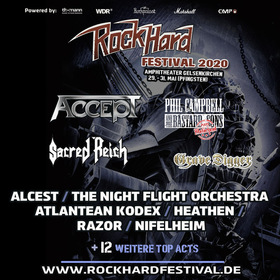 ROCK HARD FESTIVAL 2021 - Drei-Tages-Ticket