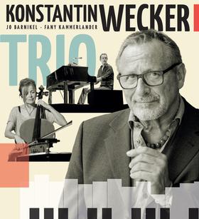 Bild: Konstantin Wecker - Trio - Poesie und Musik mit Cello und Klavier