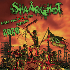 Bild: Shaârghot - Break Your Germany Tour 2020