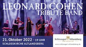 Bild: Leonard Cohen Tribute Band - Roland Helm und Band mit Cohen-Songs in der Schlosskirche